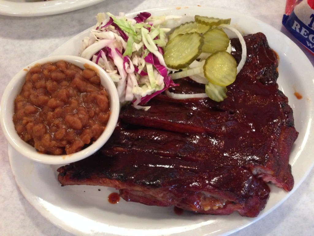 The ribs were shielded by an incredibly unappetizing bark.